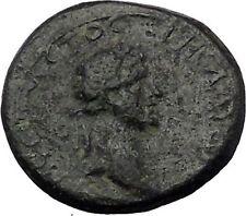 CLAUDIUS 41AD Aigai in Cilicia Apollo Rare Authentic Ancient Roman Coin i54391