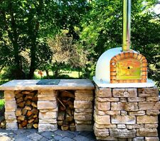 Authentic Brick Wood Fire Pizza Oven