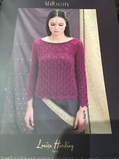 Mulberry by Louisa Harding.  Knitting pattern book, a collection of 5 patterns