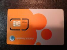 New At&T Gsm Standard 4G/3G Sim Card New,Existing,Prepaid & Postpaid sku:40952