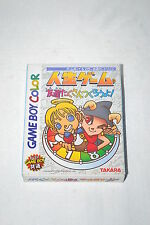 Jinsei Game Tomodachi Takusan Tsukurou Yo Game Boy Color Gbc Ntsc-J Dmg-Acjj-Jpn