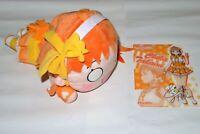 Love Live! CHIKA TAKAMI Plush Doll Mega Jumbo 40cm Nesoberi & Plastic Underlay