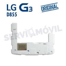 "Carcasas Intermedio Con Altavoz Musica Blanco ORIGINAL LG G3 D855 ""Refurbish"""