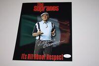 "DOMINIC CHIANESE Signed Sopranos 8x10 Autograph Photo ""UNCLE JUNIOR"" RESPECT JSA"