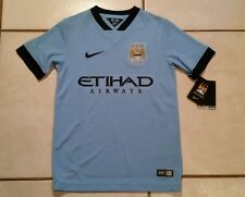 NWT NIKE Manchester City 2014 Jersey Boys Medium