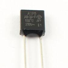 5Pcs AUPO Thermal Fuse Tf 150℃ 250V 3A A8-3A-F