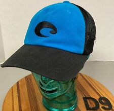 COSTA DEL MAR FISHING GEAR HAT BLUE/BLACK OSFM VERY GOOD CONDITION        D9