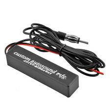 12V Windshield Electronic Hidden Amplified Antenna Car Stereo AM/FM Radio Chevy
