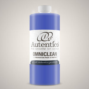 Autentico Omniclean Cleans & Degreases Surfaces Prior To Painting 1L & 250 ml