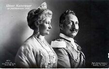 AK Unser Kaiserpaar im Jubiläumsjahr 1913, gelaufen
