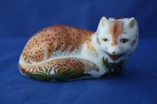 ROYAL CROWN DERBY LEICESTERSHIRE FOX PAPERWEIGHT LTD. ED. 1487/1500 - BOXED/CERT