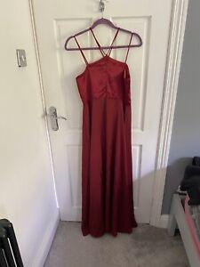 Coast Red Dress Size 12
