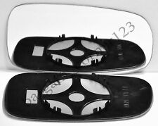 Right Driver Side Wing Mirror Glass CONVEX+Backing Plate Saab 2003-2010