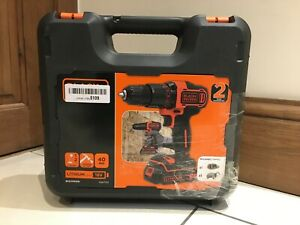 BLACK+DECKER 18V Li-Ion 2 Gear Hammer Drill BCD700S - Bare Unit Drill Only