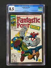 Fantastic Four #348 CGC 8.5 (1991) - Spider-Man, Wolverine, Hulk app