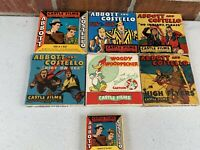 Lot of 6 VINTAGE 8mm FILMS, ABBOTT AND COSTELLO , WOODY WOODPECKER + 1 More!
