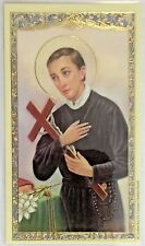 Saint St. Gerard Laminated Holy Card with Thanksgiving for a Safe Delivery