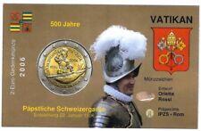 Infokarte Vatikan 2006 Schweizer Garde