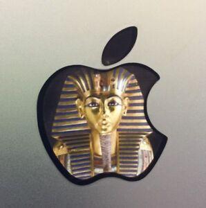 "GLOWING KING TUT MASK EGYPT Apple MacBook Pro Air Sticker Mac Laptop DECAL11-17"""