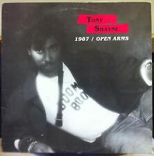 """TONY SHAYNE 1987 / open arms 12"""" VG+ N-8478 Private Nep-Tune Moden Soul Funk MP3"""