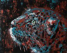 Leopard original artwork