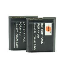 DSTE 2x NP-BG1 Battery For SONY Cybershot DSC-W30 DSC-W30L DSC-W50S DSC-W150 H3