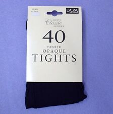"SIMPLY CLASSIC HOSIERY 40 Denier Opaque Tights - BLACK 42"" Hip"