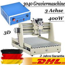 400W 3 Achse CNC 3040 Router Graviermaschine Fräsmaschine FräSer Spindle Cutter