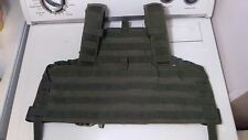 TAG Tactical Rhodesian Recon Harness Plate Carrier Chest Rig Green Size Med