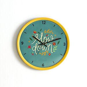 Clock Handmade Wall Decor Round Plastic Wall Clock Watch Home unique gift