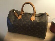 Vintage Louis Vuitton speedy bag damaged zip