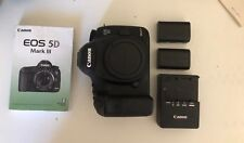 Canon 5D Mark III BODY w/ 2 LP-E6 batteries, charger, manual (see description)