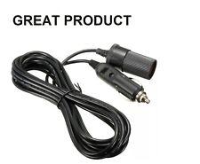5 M Cable de extensión de encendedor de cigarrillos coche Socket Cable Adaptador 12V/24V