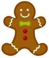 30 Custom Gingerbread Man Personalized Address Labels