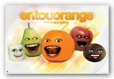 CARTOON POSTER The Annoying Orange Entourorange