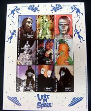 Sale! Guinea 1998 Mnh Lost In Space Stamps Sheet Of 9V Science Fiction Sci-Fi