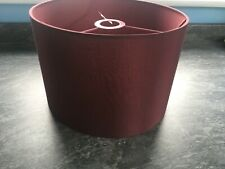 Dark Red Large lampshade suitable for ceiling or table lamp