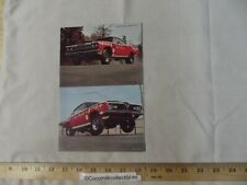 Vintage 1969 Postcard Sox & Martin Drag Racing Plymouth Road Runner Hemi Cuda