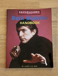 DARK SHADOWS HANDBOOK James Van Hise VTG 1988 Rare Barnabas Collins Vampire Book