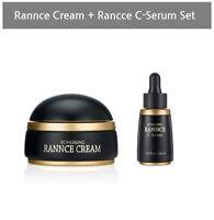 Rannce Cream 2.46oz +  Rannce C-Serum 1.52 fl oz Brightening night Cream Set