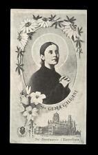 "santino-holy card""S.GEMMA GALGANI 2"
