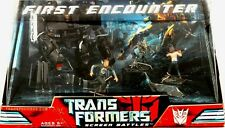 """Transformers Movie First Encounter 6"""" Barricade New 2007 Hasbro Factory Sealed"""