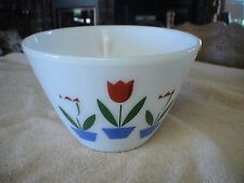 Vintage Fire King Ware Tulip Bowl