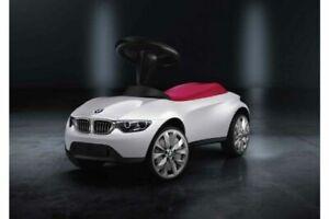 Original BMW Baby Racer III weiss himbeer NEU BMW 80932413784