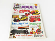LA VIE DU JOUET N° 94 NOVEMBRE 2003 - MATCHBOX, TRAINS GERARD TAB