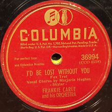 Lot of 3 78 RPM Records of FRANKIE CARLE and his Orchestra EASY PICKIN'S & Other