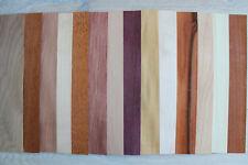 "Wood veneer sheets, veneer mix, 14 sheets  ~37cm (~14.5""),  0.6mm ~1/42"""