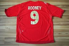 ROONEY #9 ENGLAND NATIONAL TEAM 2006-2007-2008 AWAY FOOTBALL SHIRT SIZE XXL 2XL