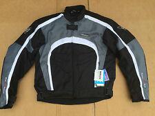 "RK SPORTS Mens Textile Motorbike / Motorcycle Jacket Size UK 44"" Chest (B27)"