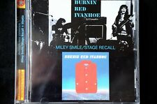 Burnin Red Ivanhoe Miley Smile/ Stage Recall +Shorts remastered 2 on 1 CD New